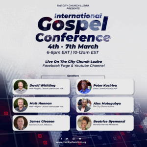 an invitation to The Gospel Conference